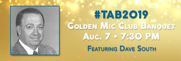 Join Dave South at the Golden Mic Club Banquet